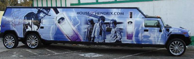 Hendrix Vodka Bus